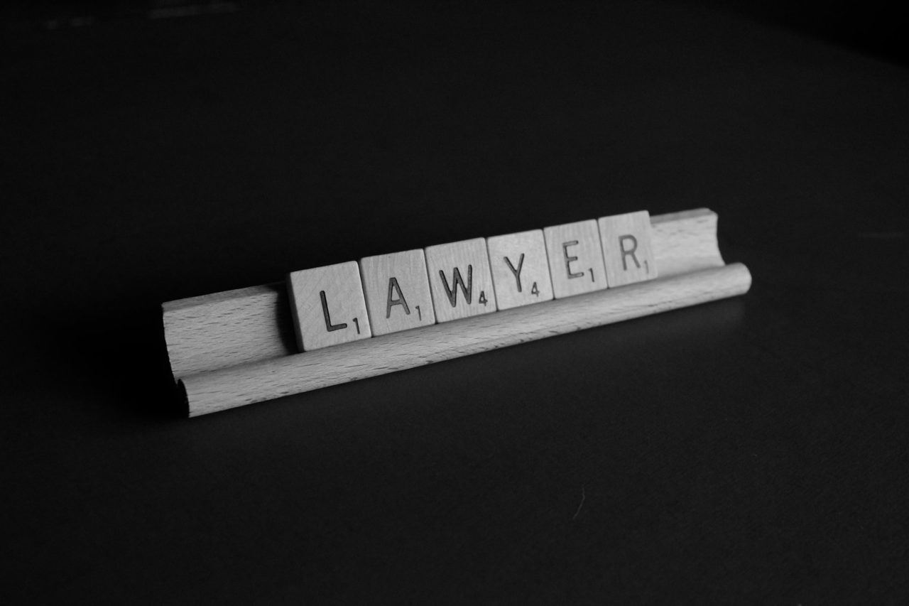 אותיות עורך דין - אילוסטרציה